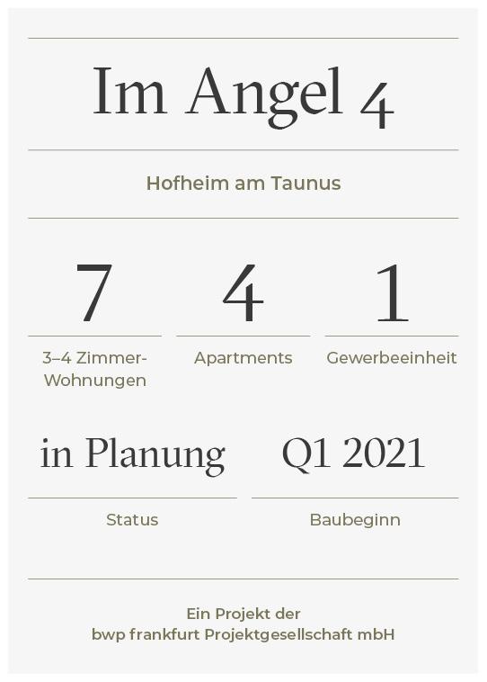 Projekt Factsheet Im Angel 4 - bwp frankfurt